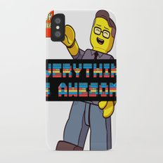 Kirby Krackle -Everything Is Awesome! (Lego style shirt) iPhone X Slim Case