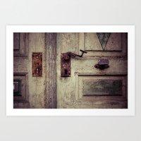 door Art Prints featuring door by Deviens