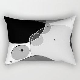 Circle Series - Chrome Rectangular Pillow