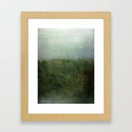 Summer Love at a Twilight Beach Framed Art Print