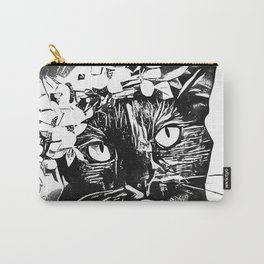 Black Cat InkWork Carry-All Pouch
