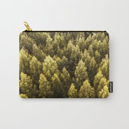 pine tree pattern Carry-All Pouch