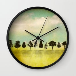 IN RANK AND FILE Wall Clock