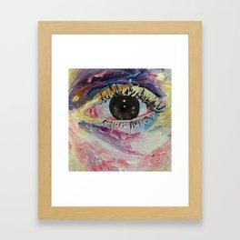 eye details Framed Art Print