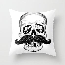 Hola Bonita Throw Pillow