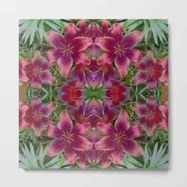 Magical Lilies Metal Print