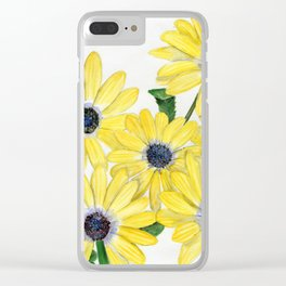 Strangely Sunny Clear iPhone Case
