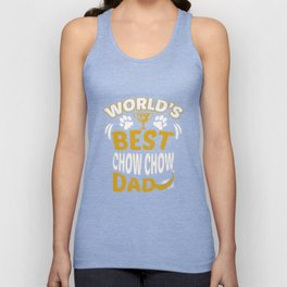 World's Best Chow Chow Dad Unisex Tank Top