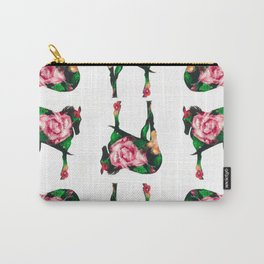 Horse with rose Carry-All Pouch