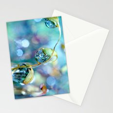 Rainbow Moss Drops Stationery Cards