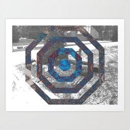 Traction Art Print