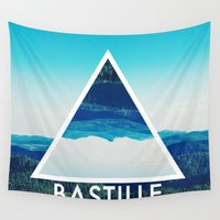 bastille Wall Tapestries featuring BASTILLE by Hands in the Sky