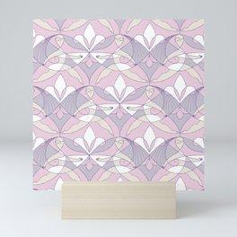 Interwoven XX - Orchid Mini Art Print