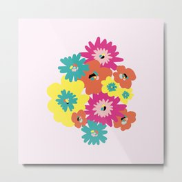 Late spring flowers Metal Print