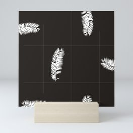 Palms Black&White #society6 #decor #buyart Mini Art Print