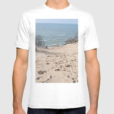 On to the Horizon MEDIUM Mens Fitted Tee White