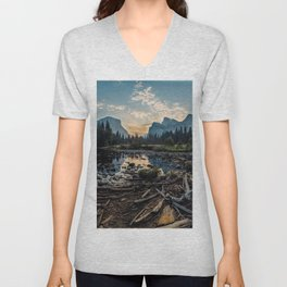 May Your Adventures Be Wild Unisex V-Neck
