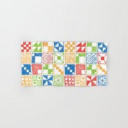 Square of Squares Hand & Bath Towel