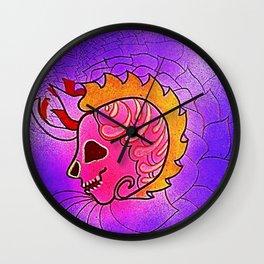 CRÁNEOS 18 Wall Clock