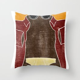 Novidio Throw Pillow