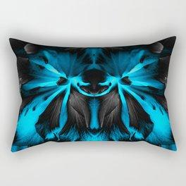 Honey Badger Flower Rectangular Pillow