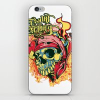 pirate iPhone & iPod Skins featuring Pirate by Tshirt-Factory