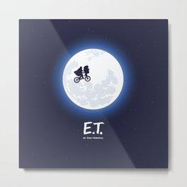 ET the extraterrestrial Metal Print