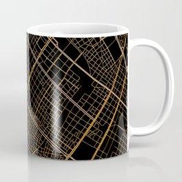 Bogota map, Colombia Coffee Mug