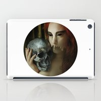 madonna iPad Cases featuring Lamenting Madonna by Richard George Davis