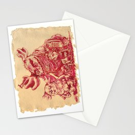 """""""Ugly Family"""" Stationery Cards"""