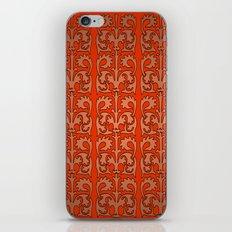 Plum Regalia iPhone & iPod Skin