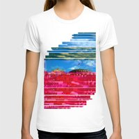 oslo T-shirts featuring Beautifully Glitched Oslo, Norway by GlitchedGirl