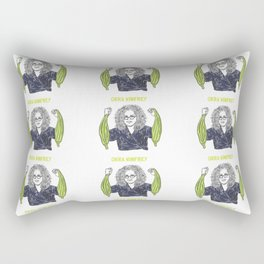 Okra Winfrey Rectangular Pillow