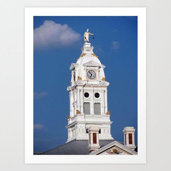 Henry County Courthouse (II) Art Print