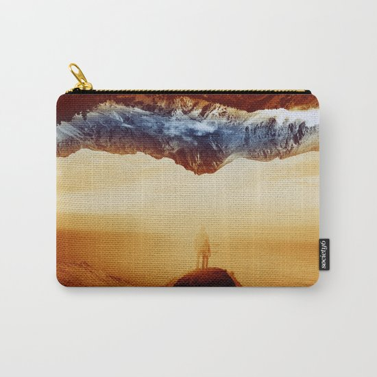 Vibrant Mountain Carry-All Pouch