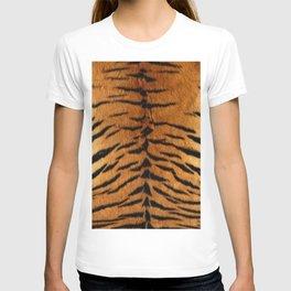 Faux Siberian Tiger Skin Design T-shirt