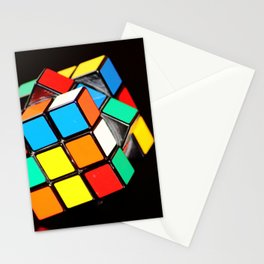 Rubik's cube Stationery Cards