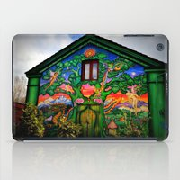 hippy iPad Cases featuring house hippy by  Agostino Lo Coco