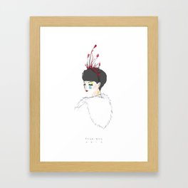 Iyana Framed Art Print