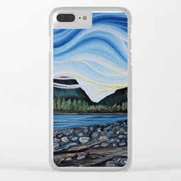 Squamish River Clear iPhone Case