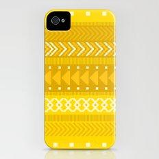 Indomitable - tribal geometrics Slim Case iPhone (4, 4s)