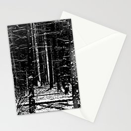 Forest Dark II Stationery Cards