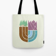 Mountain Crest Tote Bag