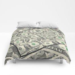 Dollar Bills Design Comforters