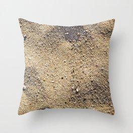 Texture #5 Sand Throw Pillow