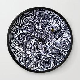 Oct-ipal Illusion Wall Clock