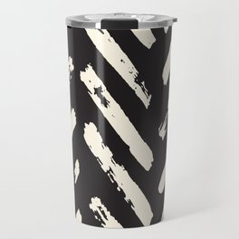 Retro Chevron Pattern Travel Mug