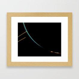 Jupiter's Rings Framed Art Print