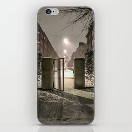 Winter is apparently already here iPhone Skin