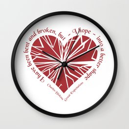 Charles Dickens - Great Expectations Wall Clock